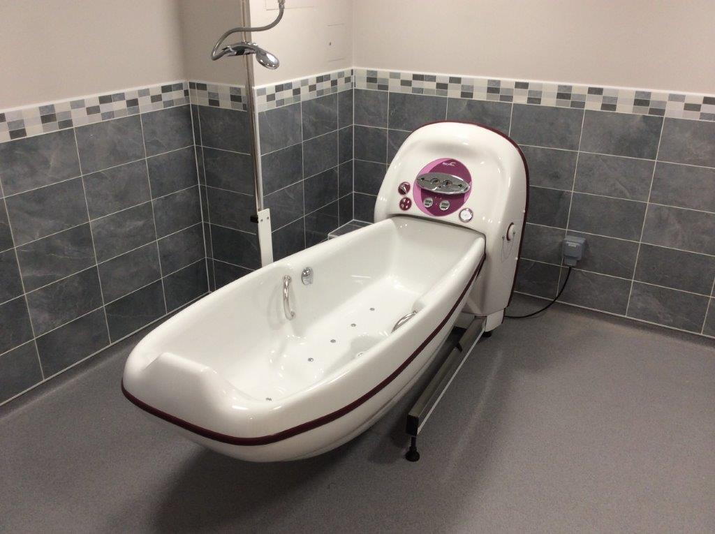 Cocoon Bath Ergo Installed