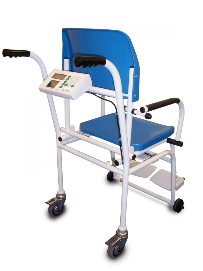 M-210 Chair Scale, care homes, chair scales, hospitals
