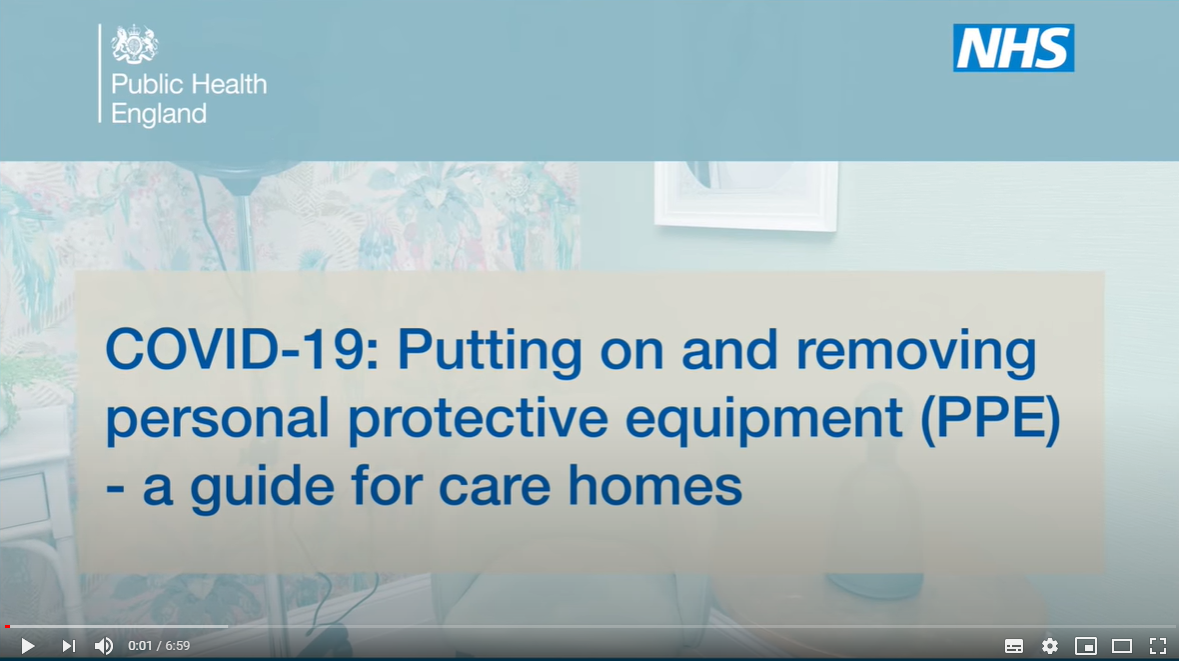 ppe-care-home-guide-video