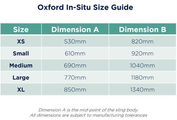 Oxford-In-situ-Sling-Size-Measurement-Guide