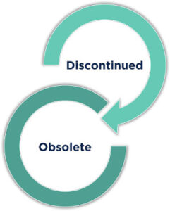 discontinued-to-obsolete
